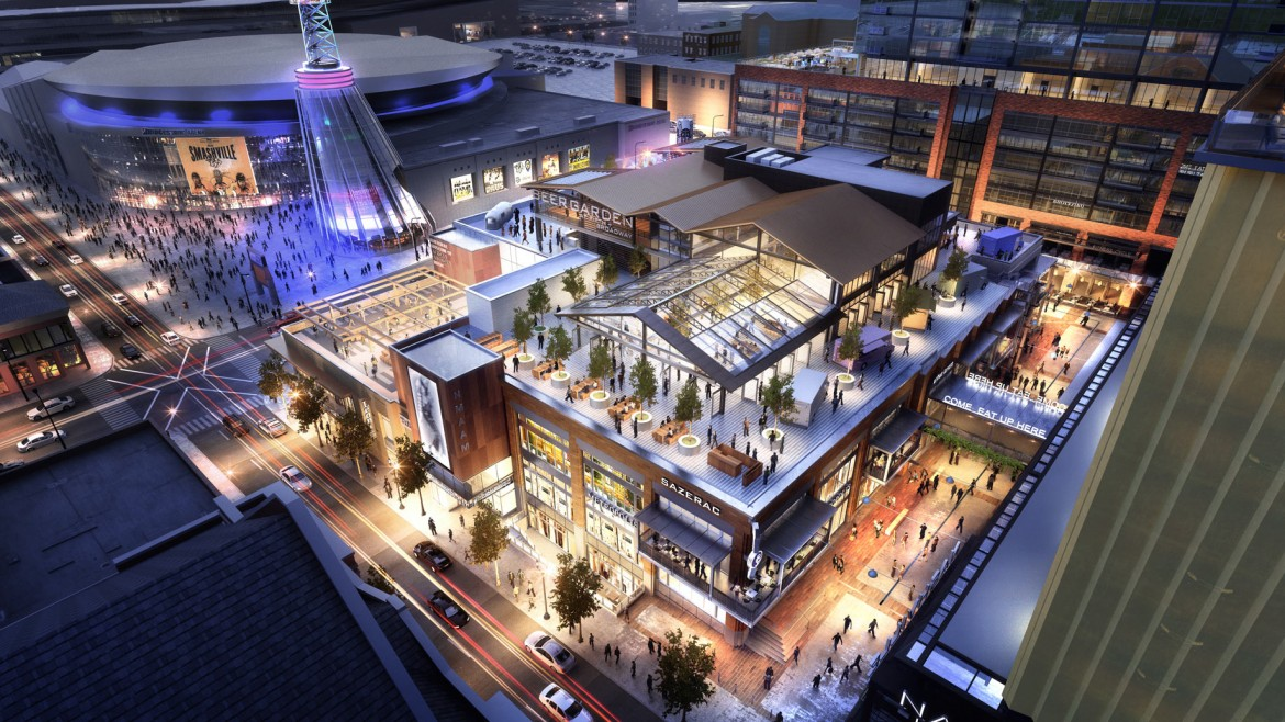 Four More Restaurants Sign on to Join Downtown Nashville Food Hall